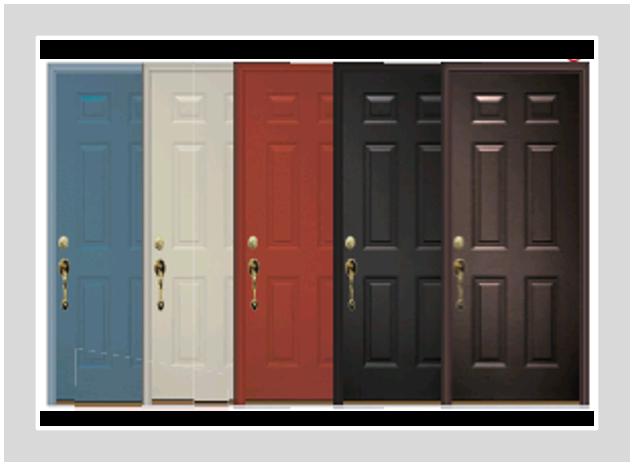 Great Deal 6 Panel Steel Entry Door Only 1599 Tgs Garage Doors