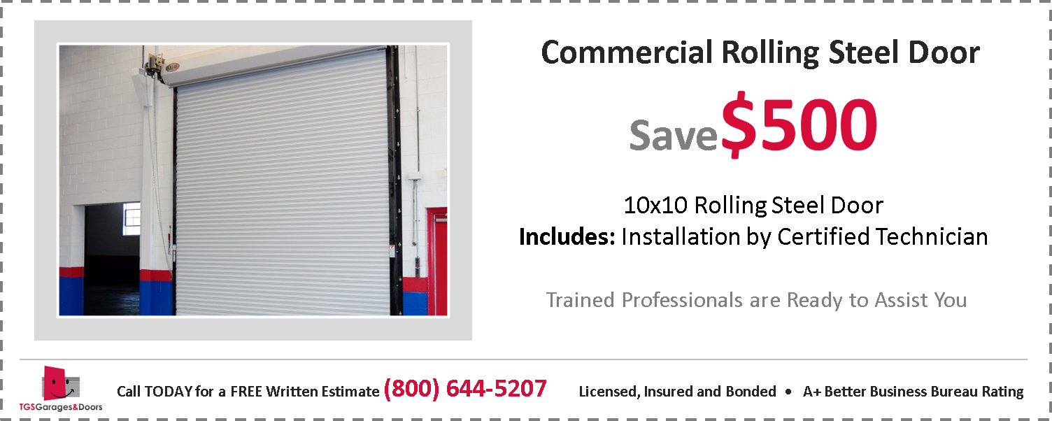 Commercial Steel Rolling Door