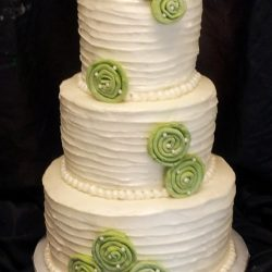 Specialty Wedding Cakes | Green Wedding Cakes | Arlington TX Cakes