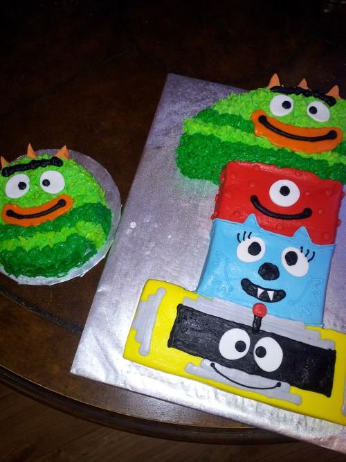 Peachy 1St Birthday Yo Gabba Gabba Thats The Cake Funny Birthday Cards Online Inifofree Goldxyz