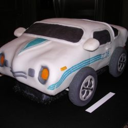 Sculpted Camero Cake | custom grooms cakes | traditional grooms cakes