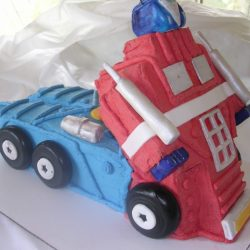 Optimus Prime Transformer | Transformers Birthday Cakes | Specialty Cakes