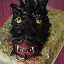Smaug The Dragon | Wedding Cakes | Birthday Cake | Custom Cake Pops | Arlington, TX