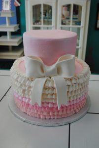 Ruffled Cakes | Baby Shower Cakes | Birthday Cakes | Arlington TX