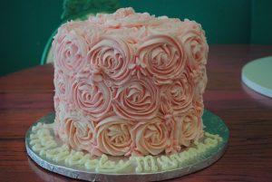 Birthday Cake | Buttercream cakes | Rosettes cake