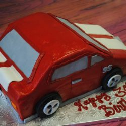 1968 SuperSport Camero | Cartoon Cakes | Car Cakes | Specialty Cake
