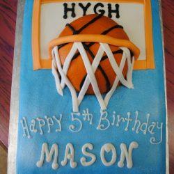 Basketball Birthday Cake | basketball sheet cakes | Arlington TX