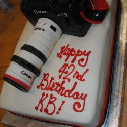 Camera Cake | Photographers Birhday Cake