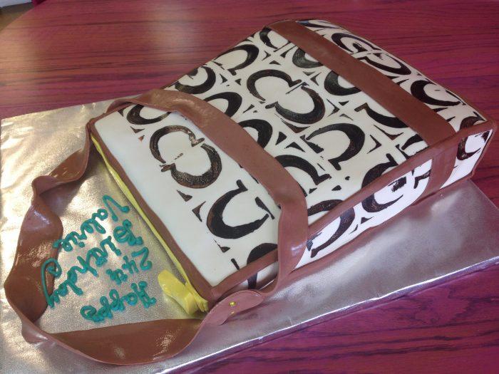 Car Purse Birthday Cake