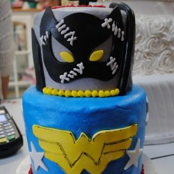 WWF Wrestling Cake| Special Cake | Custom Superhero Cakes | Arlington, TX