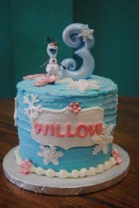 custom birthday cakes, specialty cakes, disney cakes, frozen cakes, Arlington, TX