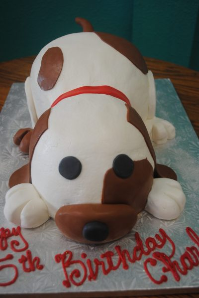 Girl Minion Cartoon Dog Cakes Custom Sculpted Arlington Specialty