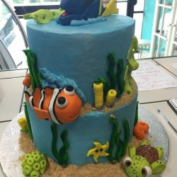 Disney's Finding Dory, Finding Nemo Cakes, Custom cakes in dallas, custom cakes near me, grapevine cake bakery, mansfield cake bakery, south arlington bakery, Arlington, TX