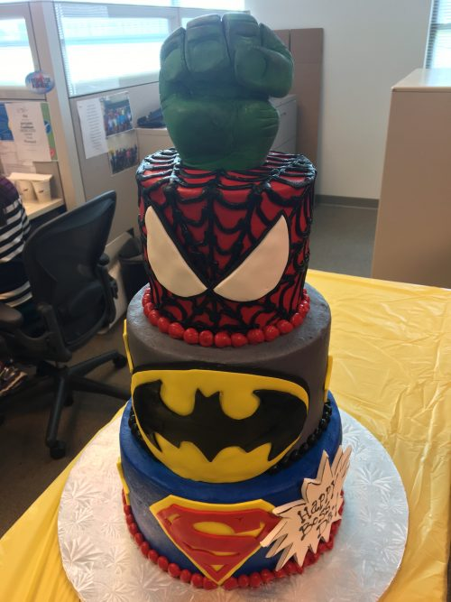 Incredible Superhero Themed Birthday Cakes Dallas Cakes Fort Worth Cakes Funny Birthday Cards Online Alyptdamsfinfo