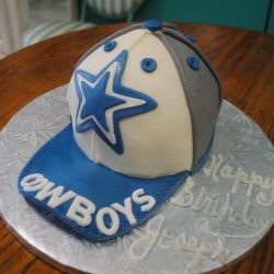 Small Birthday Cakes, Dallas Cowboys Birthday Cakes