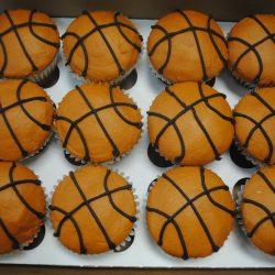 Basketball Cupcakes, Cupcake bakery dallas