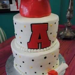 Simple Graduation Cake, Specialty Bakery, Best Bakeries in Dallas