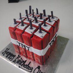 Minecraft TNT cake, Birthday cakes in Arlington texas, birthday cakes in fort worth texas, affordable cakes in Arlington, affordable cakes in dallas, birthday cakes in dallas, birthday cakes in southlake, birthday cakes in irving, birthday cakes north texas