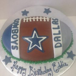 Dallas Cowboys cakes, dallas cowboys football cakes, football birthday cakes, southlake birthday cakes, arlington bakery