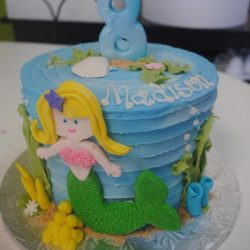 Birthday cakes in Arlington texas, birthday cakes in fort worth texas, affordable cakes in Arlington, affordable cakes in dallas, birthday cakes in dallas, birthday cakes in southlake, birthday cakes in irving, birthday cakes north texas, small mermaid cake, mermaid birthday cakes