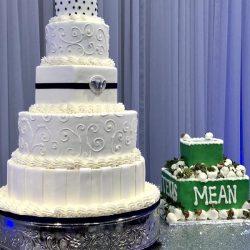 pearl Wedding Cakes, Stencil wedding cakes, silver wedding cakes, wedding cake ideas, frisco wedding cakes, plano birthday cakes, carrolton wedding cake bakery, grapevine wedding cake, irving wedding cakes, sugar bee sweets bakery