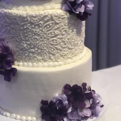 Closeup Elegant Wedding Cakes | Designer wedding cakes | dallas wedding bakery