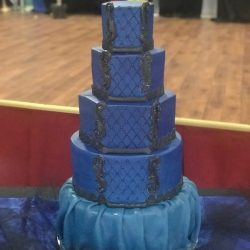 quilted birthday cakes, quinceanera cakes, custom cakes dallas, southlake bakery, mansfield birthday cakes