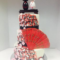 Oriental Wedding Cakes, Designer Wedding Cakes, Custom Cakes, Fort Worth Wedding Bakery