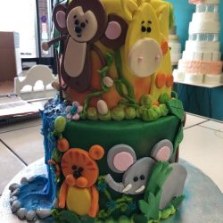 Jungle Animals Baby Shower Cakes | Fort Worth Bakery | Dallas Bakery | that's the cake | frisco cakes | carrolton bakery | cakes in grapevine, baby shower cakes in Arlington texas, frisco baby shower bakery, dallas texas cake bakery, baby shower cakes in fort worth, dallas baby shower cakes, southlake baby shower cakes, plano baby shower cakes, grand prairie baby shower cakes bakery, hurst cake bakery, Euless baby shower cakes, richland hills baby shower cakes, baby buggie birthday cakes, baby shower cakes in arlington