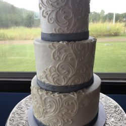 Hand Piped Cakes, Buttercream Wedding Cakes, Dallas Wedding Cakes, Southlake Wedding Cakes, Elegant Cakes