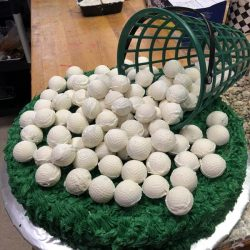 Cakeballs for Golfer | Golf themed cakes | cake bakery arlington