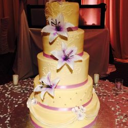 Floral Wedding Cakes | Dallas Wedding Bakery | Arlington Wedding Bakery | Custom Wedding Cakes