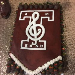 Texas A&M Cakes, aggie band cakes, custom grooms cakes, dallas delicious cakes, the london baker, sugar bee sweets