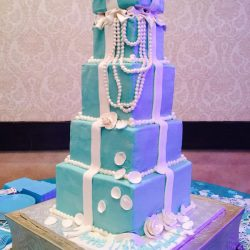 Tiffany & Co Birthday Cakes, Dallas Bakery, Best Dallas Bakery, Fort Worth birthday cakes, sweet 16 cakes, frisco bakery