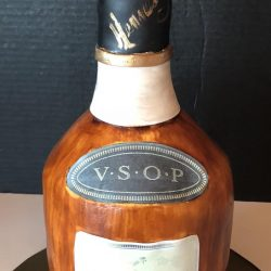 VSOP Hennessy Birthday Cake, Sculpted Birthday Cake, That's The Cake, The London Baker, Sugar Bee Sweets Bakery