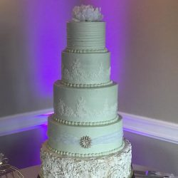 fondant flowers   wedding cakes dallas   burleson wedding cakes   lake worth wedding cakes   mint green cakes