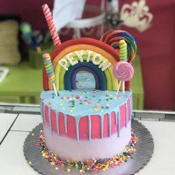 Dallas cakes | drip cakes | candy confetti cakes | rainbow cakes | dallas | arlington