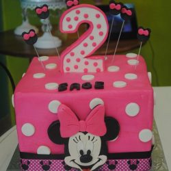 small birthday cakes | small minnie mouse cake | 2nd birthday cake | arlington tx cakes