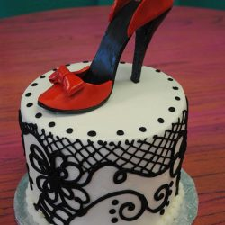 High Heel Shoe Cakes | shoe cakes | arlington texas cakes | formal cakes | cute cakes