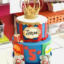 circus birthday cake, dallas birthday cakes, arlington bakery
