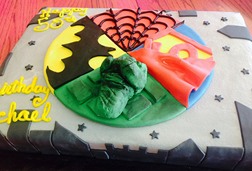 birthday cakes dallas | arlington cakes | sheet cakes | superhero cakes | custom cakes