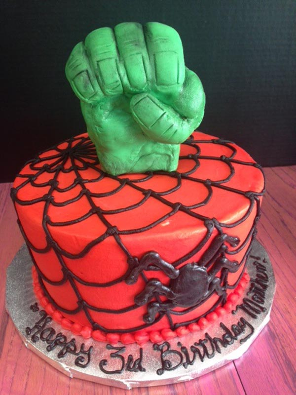 Brilliant Superhero Themed Birthday Cakes Dallas Cakes Fort Worth Cakes Funny Birthday Cards Online Chimdamsfinfo