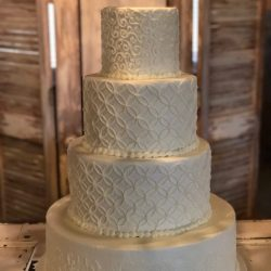 Scrolling Wedding Cake | Custom Cakes | Dallas | Fort Worth | fort worth wedding bakery, arlington wedding bakery
