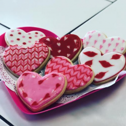 Valentines Cookies | thats the cake bakery | custom cookies