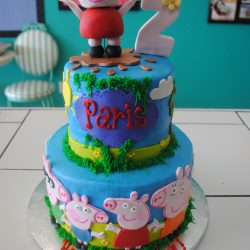 Peppa Pig Cakes, Birthday cakes for girls, Arlington TX Bakery
