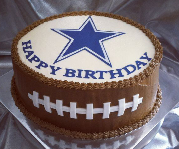 Fantastic Dallas Cowboys Custom Cakes Thats The Cake Bakery Funny Birthday Cards Online Alyptdamsfinfo