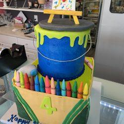 VEGAN CAKES, DAIRY FREE CAKES, CRAYON CAKE, CUSTOM BIRTHDAY CAKES