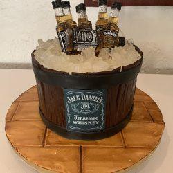 Jack Daniels Barrel | Jack daniel grooms cakes | whiskey cakes