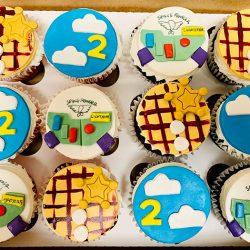 cupcakes, toy story design, disney cupcakes, arlington bakery, dallas bakery
