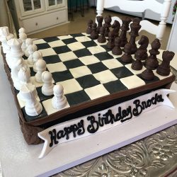 Chess Board Cakes | Chess Cakes | Chess Player Cakes | Dallas Bakery | Fort Worth Grooms Cakes
